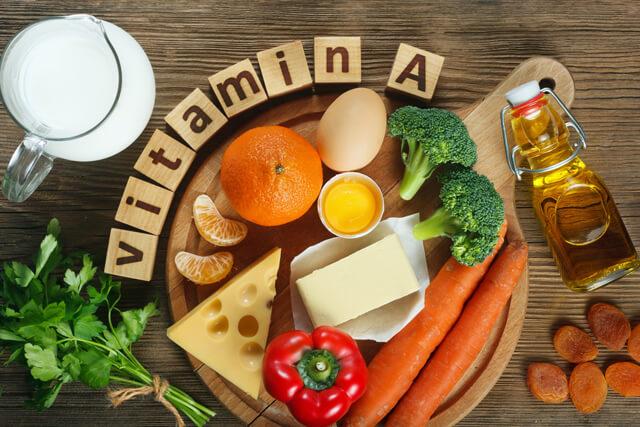ビタミンAを多く含む食品