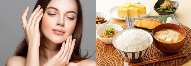 美肌と朝ご飯の関係